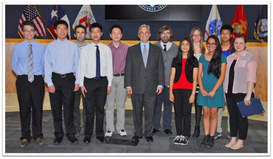 Academic WorldQuest Teams with Austin Mayor Steve Adler